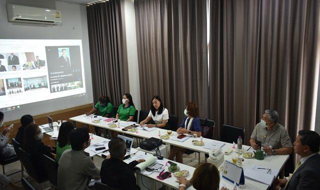 ประชุมคณะกรรมการบริหารมูลนิธิสัมมาชีพ ครั้งที่ 1/2563