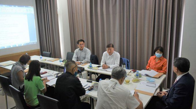 ประชุมคณะกรรมการบริหารมูลนิธิสัมมาชีพ ครั้งที่ 2/2563